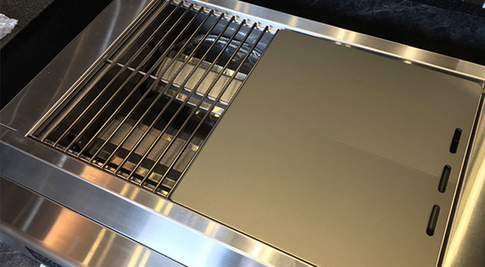 Small Griddle Plate and Rack Set